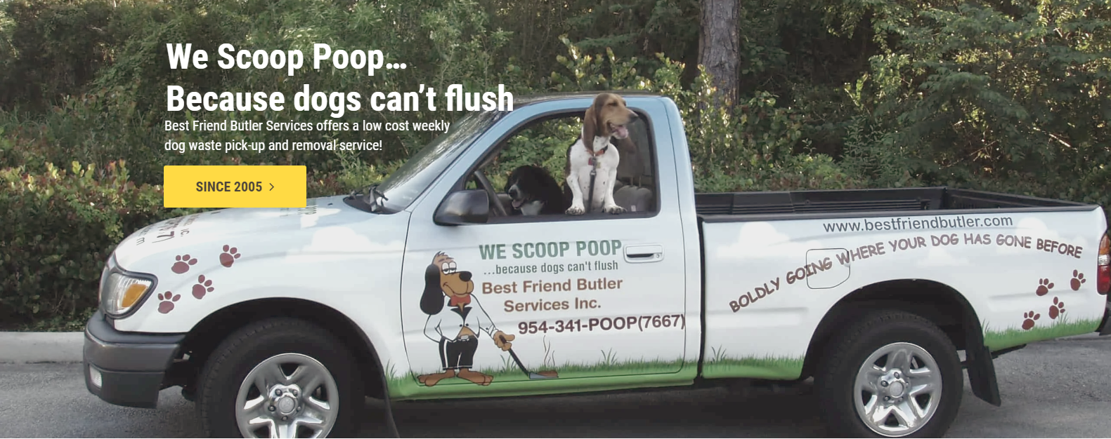 Best Friend Butler Services Provides Low-cost Dog Waste Disposal Services
