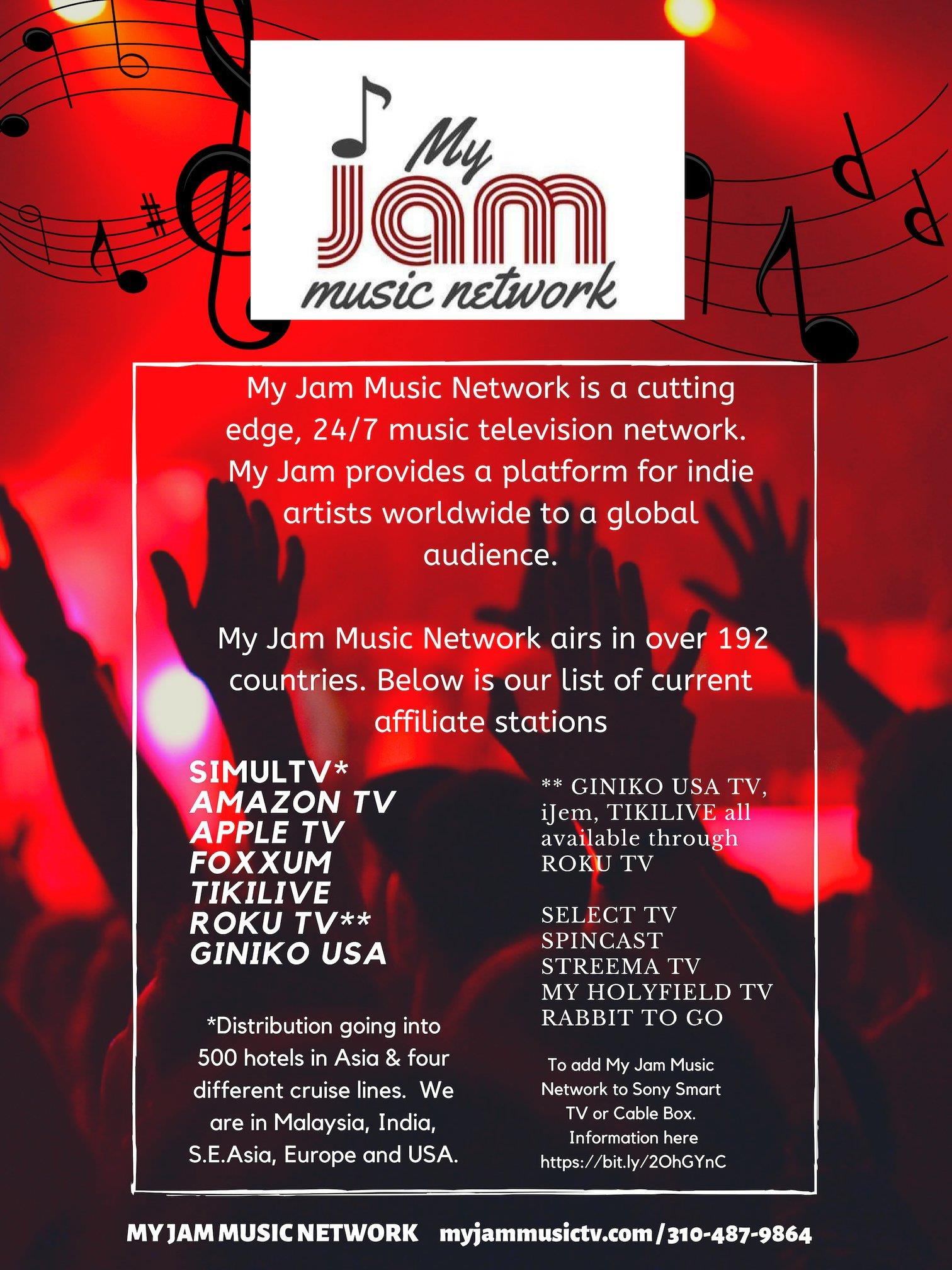 MyJamMusic Network and GigsToWatch launch new Streaming Coverage for Grass Roots Music