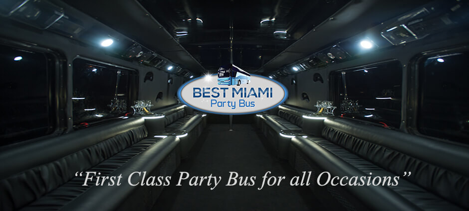 Best Miami Party Bus, a Top Miami Party Bus Company Announces New Services for FL