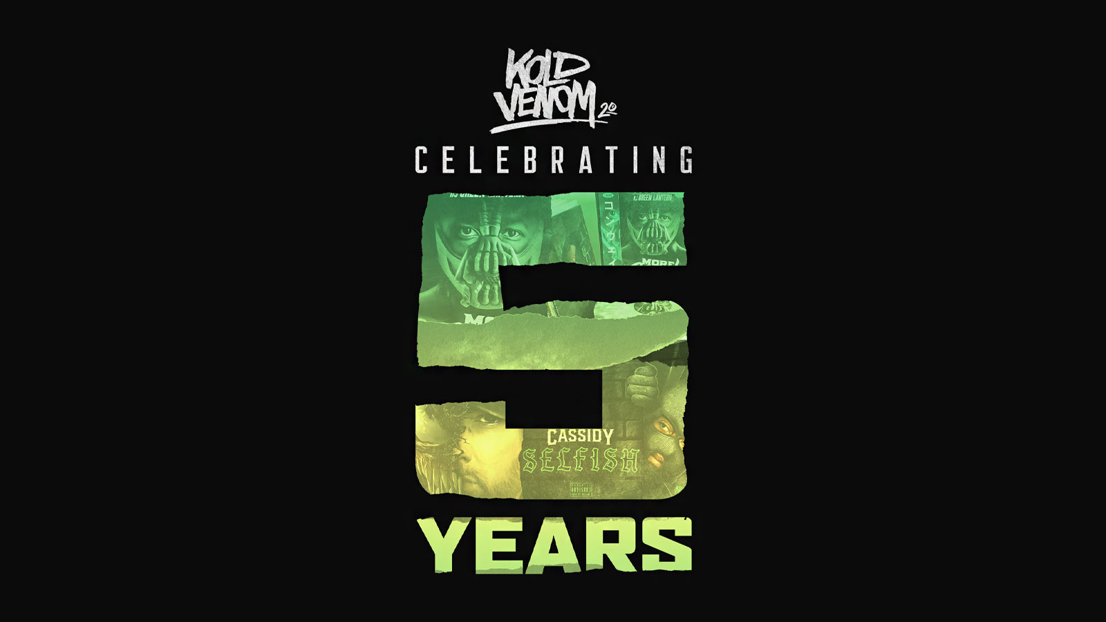 Kold Venom Design Celebrates Five Years of Blowing Away Expectations in Graphic Design for the Hip-Hop Industry
