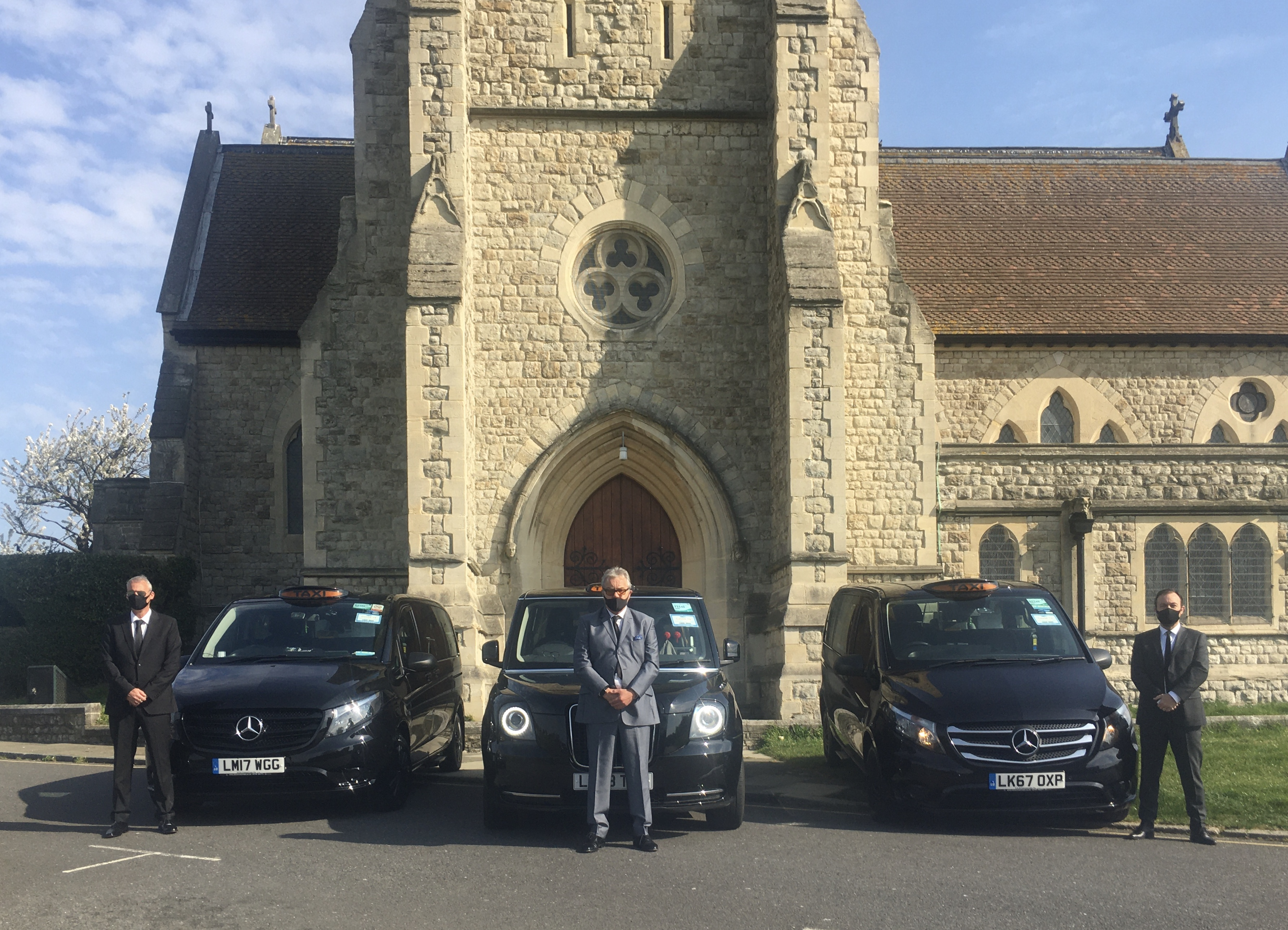 London\'s taxis are being used as funeral cars as the Covid-19 death toll continues to rise