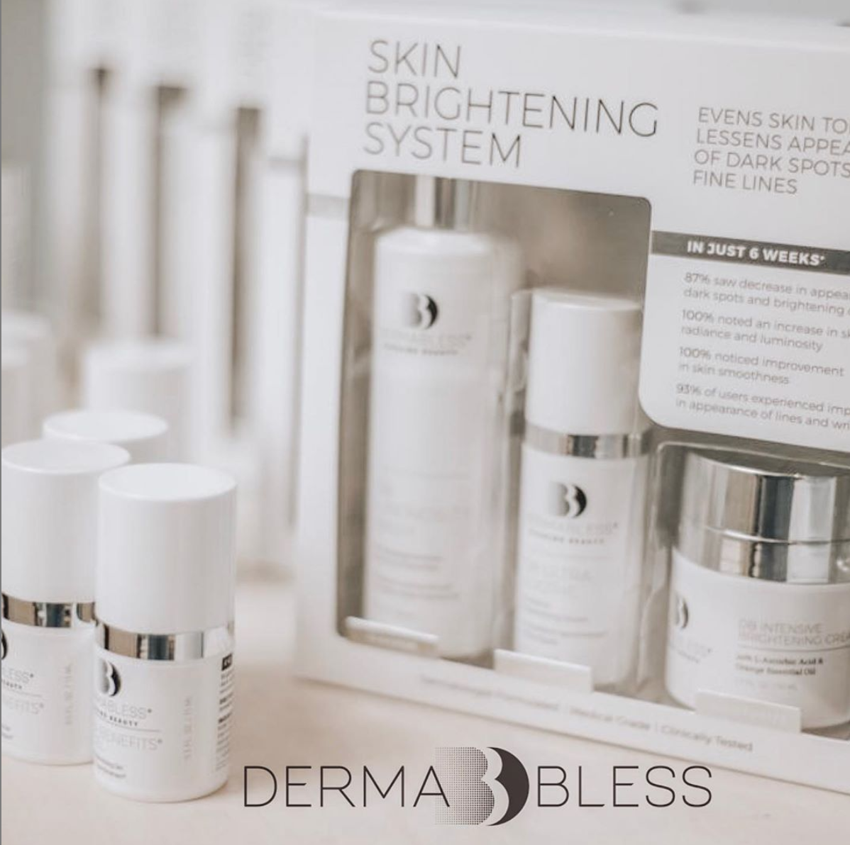 Dermabless Offers An Exclusive Line of Quality Skin Care Products Created Especially for Its Distinguished Clients