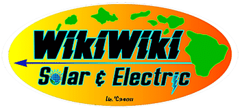 WikiWiki Solar and Electric is an Electrician Providing Electrical and Solar Solutions in Maui, HI
