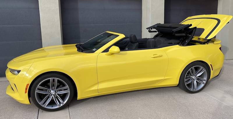 SmartTOP additional convertible top control for Chevrolet Camaro now available