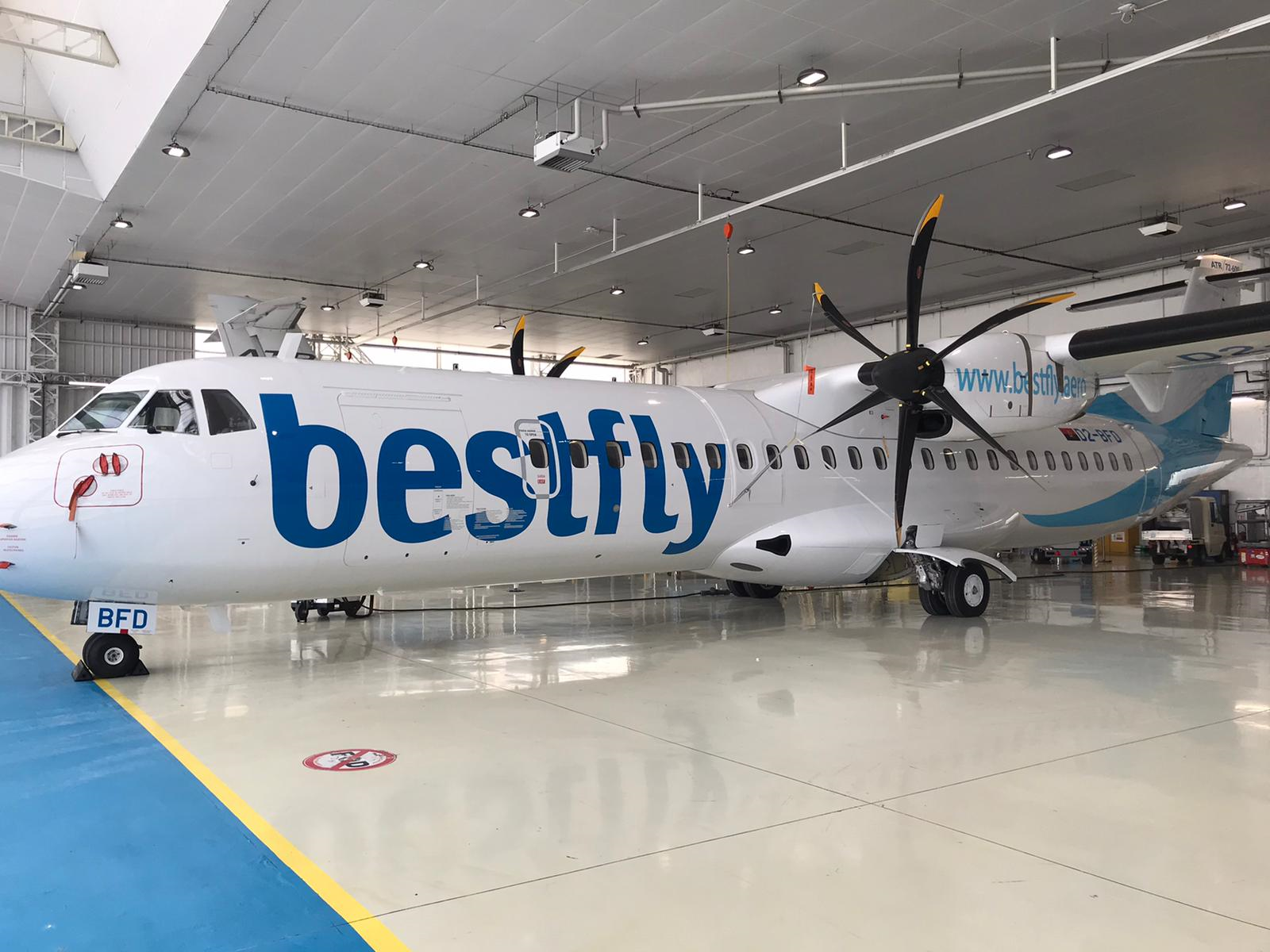 Bestfly takes Delivery of ATR72-600 Aircraft from ACIA Aero Leasing
