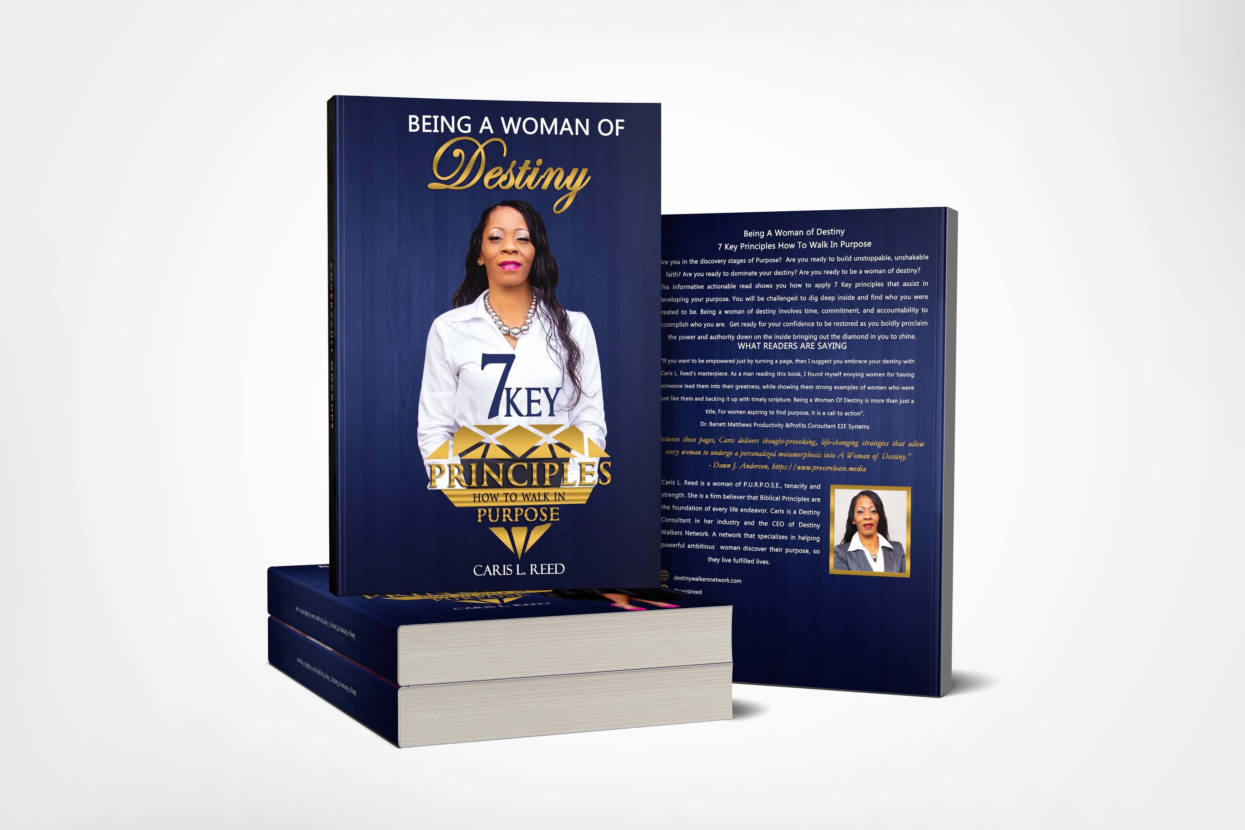 Destiny Walkers Network Launches New Book Being A Woman of Destiny: 7 Key Principles How To Walk In Purpose