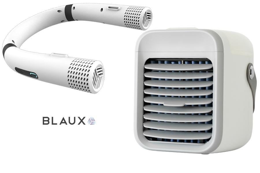Blaux Wearable AC and Blaux Portable AC Personal Air Conditioners Debut