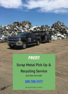 Free Scrap Metal Pick Up Hamilton Offers Scrap Metal Recycling Services in Hamilton, ON