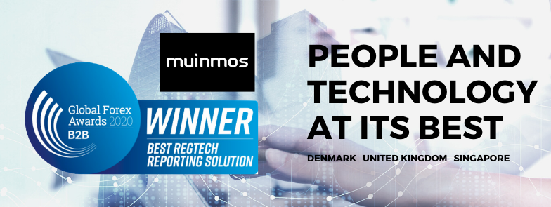Muinmos Wins Global Forex Awards 2020 for Best RegTech Reporting Solution