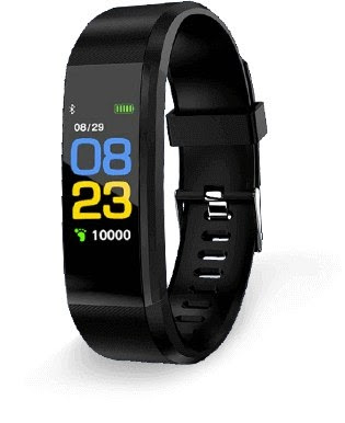 AmeriHealth Fit Tracker Smart Watch: Military-Style Fitness Monitor for Weight Control, Sleep and Vitals
