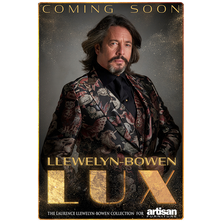 Laurence Llewelyn-Bowen launches furniture collection 'LUX' with Artisan Furniture