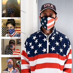 The Flag Shirt Launches Line of Patriotic Face Masks, Just in Time for the 4th of July