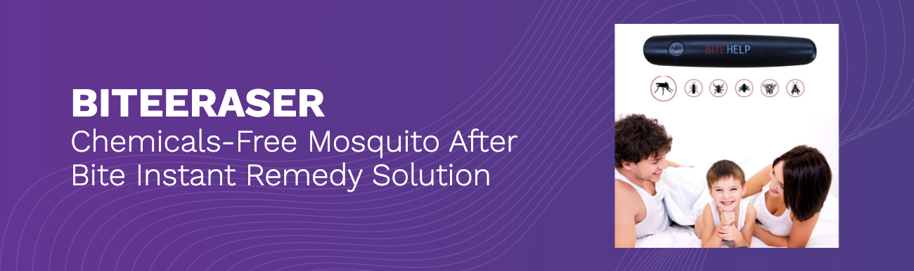 BiteEraser Mosquito Bite Remedy Helps Stop Bug Bites from Itching Fast