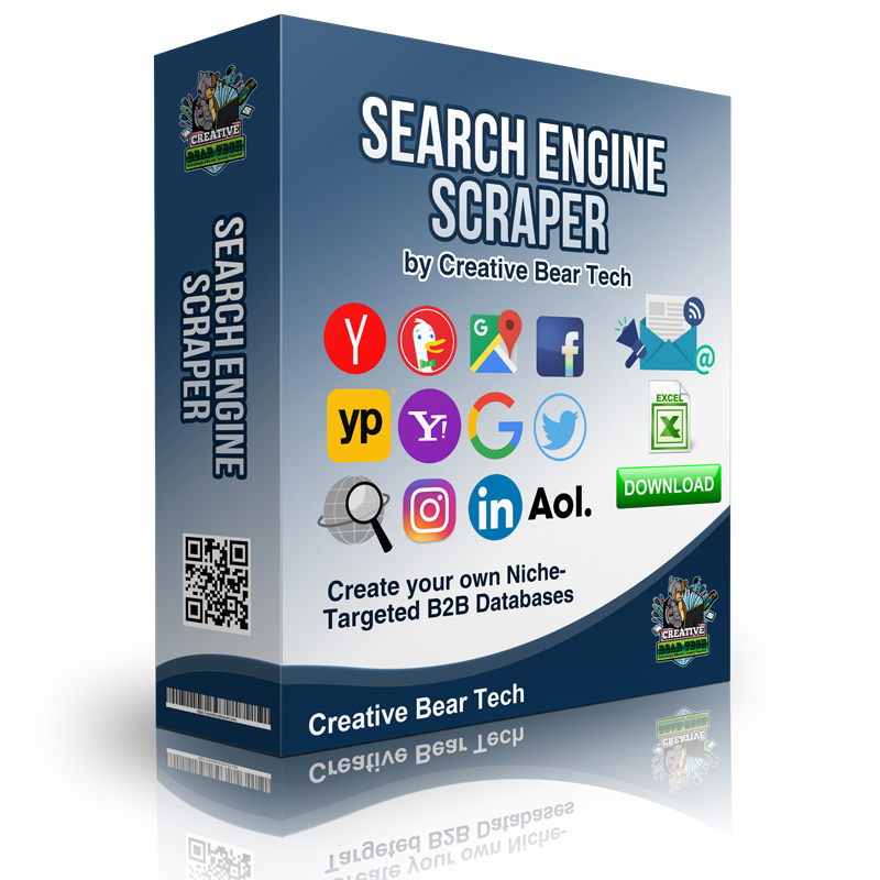 Creative Bear Tech Introduces the Best Search Engine Scraper and Email Extractor Software