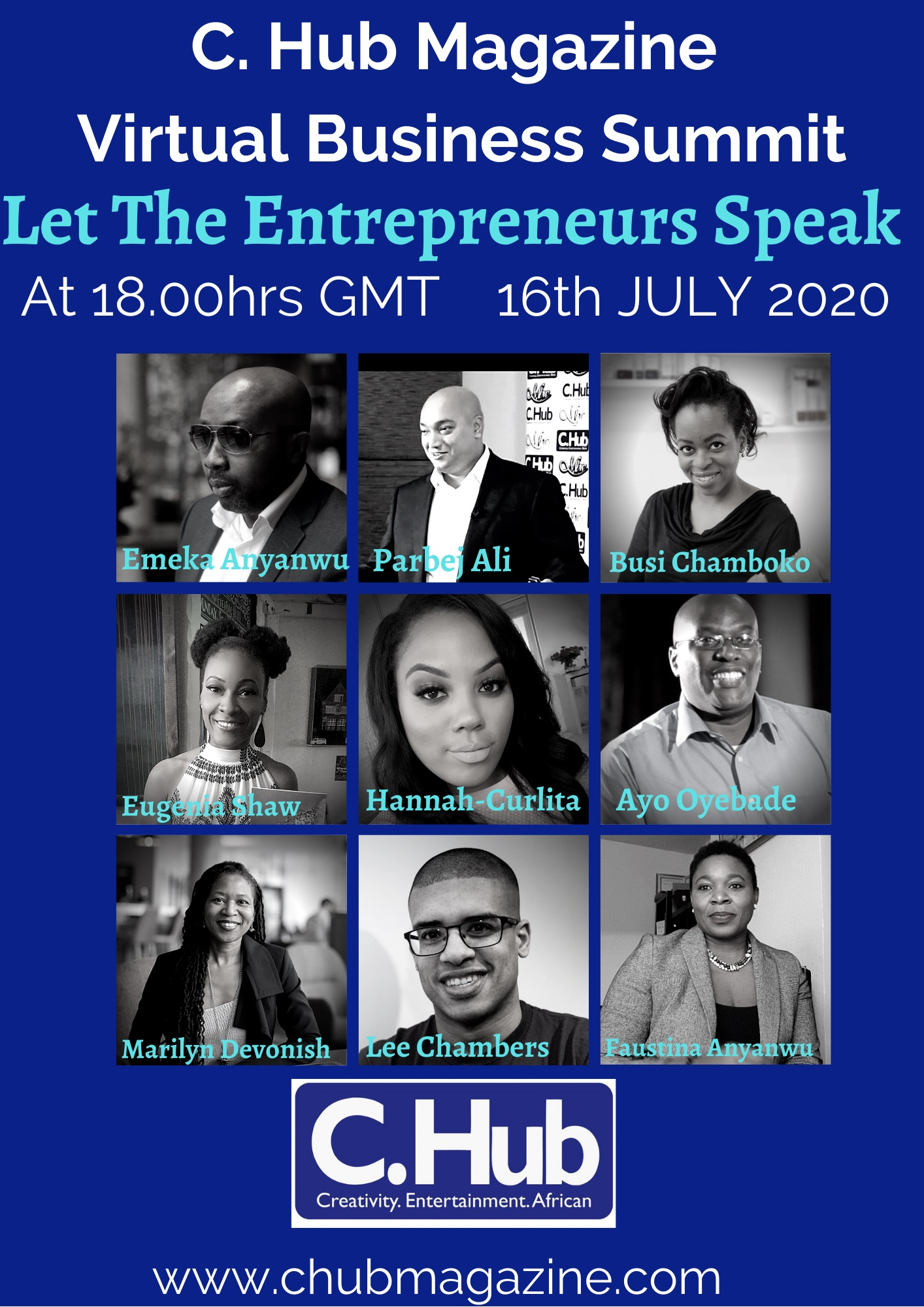 Let The Entrepreneurs Speak: Virtual Business Summit Featuring Lee Chambers