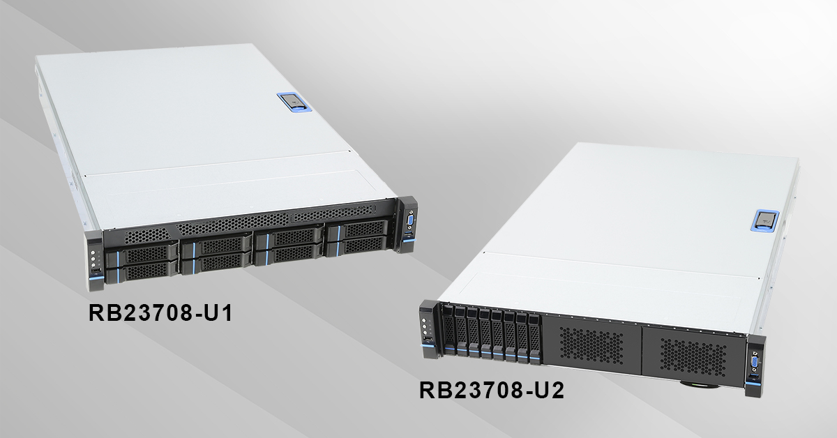 Chenbro unveils 2U 8-Bay Rack Mount Server for Data Center - the RB23708