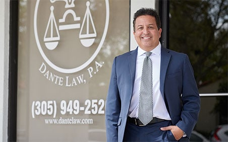 Dante Law Firm, P.A. Is A Car Accident Attorney Offering Their Service At No Cost Until The Case Is Won