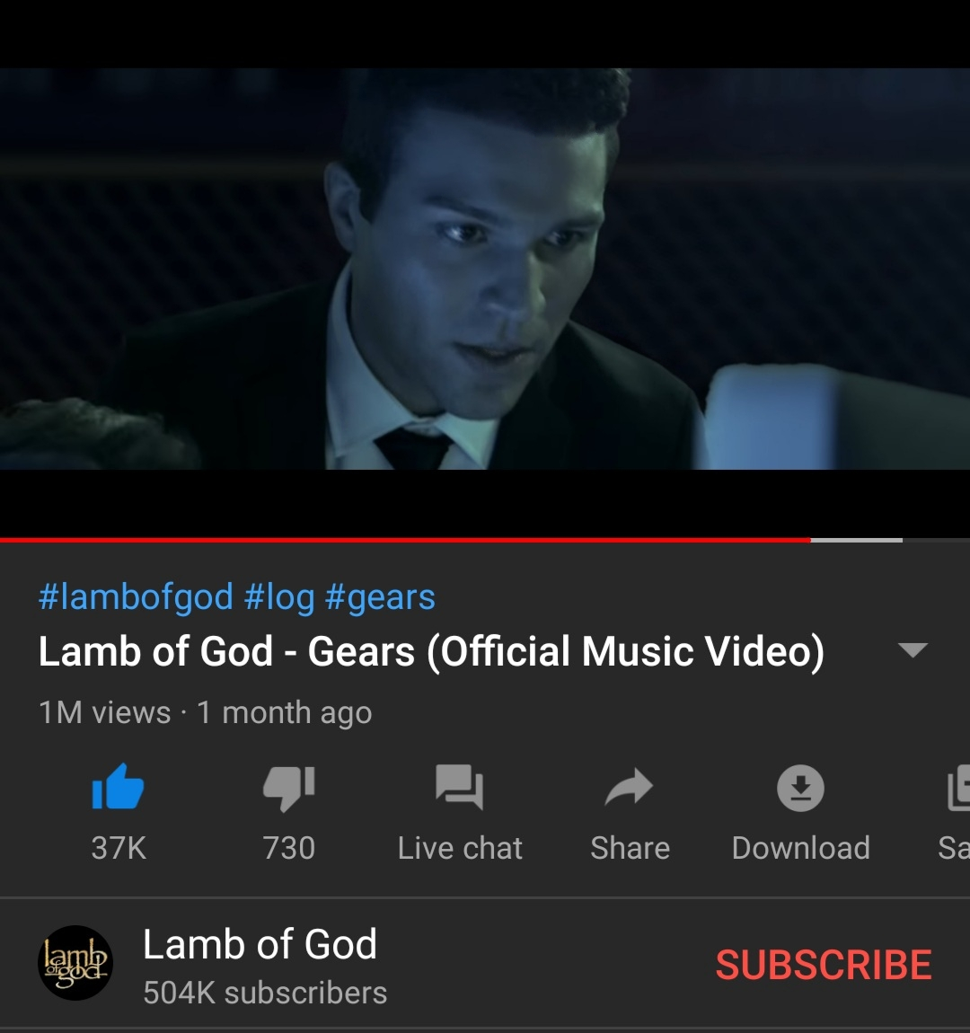 Julian Kerins Wows With Cameo In Lamb Of God's New Music Video