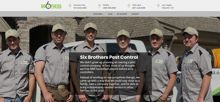 Six Brothers Pest Control Company adopts new measures to help combat the spread of COVID'19