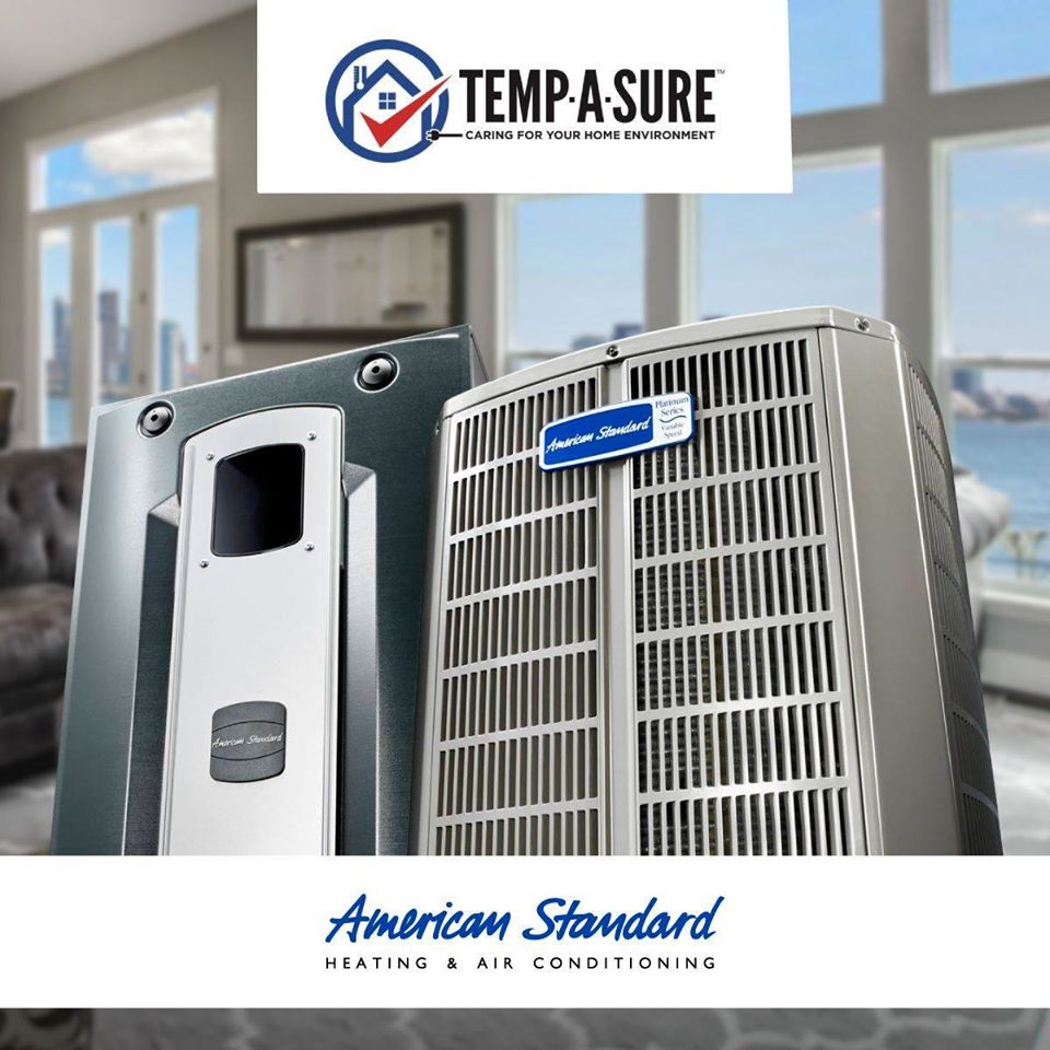 Newly Relaunched Service Menu from Temp-a-Sure Heating and Air Conditioning