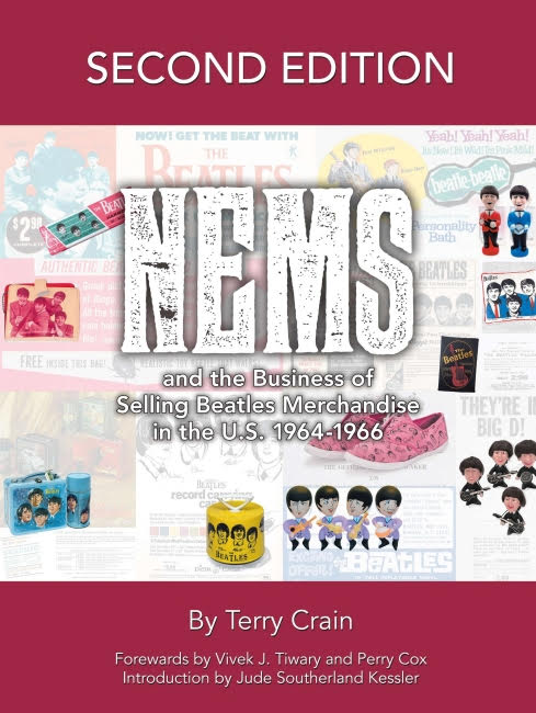 NEMS and the Business of Selling Beatles Merchandise in the U.S. 1964-1966 - Pop-Culture coffee-table book