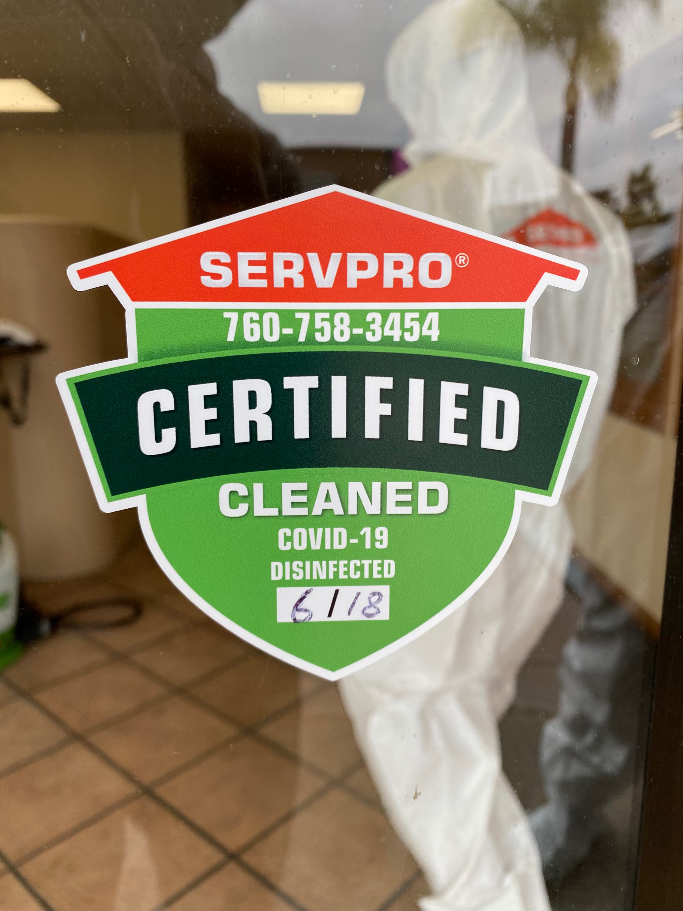 SERVPRO Joins the Frontline to Protect American Businesses Against COVID-19
