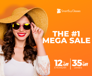 SmartBuyGlasses Mega Sale - The biggest sale of the year has landed