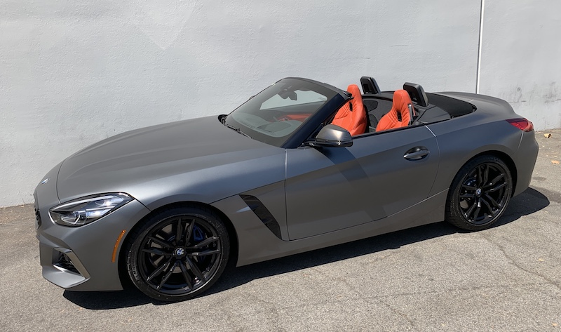 SmartTOP convertible top module for BMW Z4 Roadster enables One-Touch operation