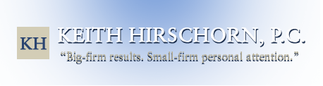 The Law Offices of Keith Hirschorn, P.C. - Highly Rated Criminal Defense Attorney in Hoboken