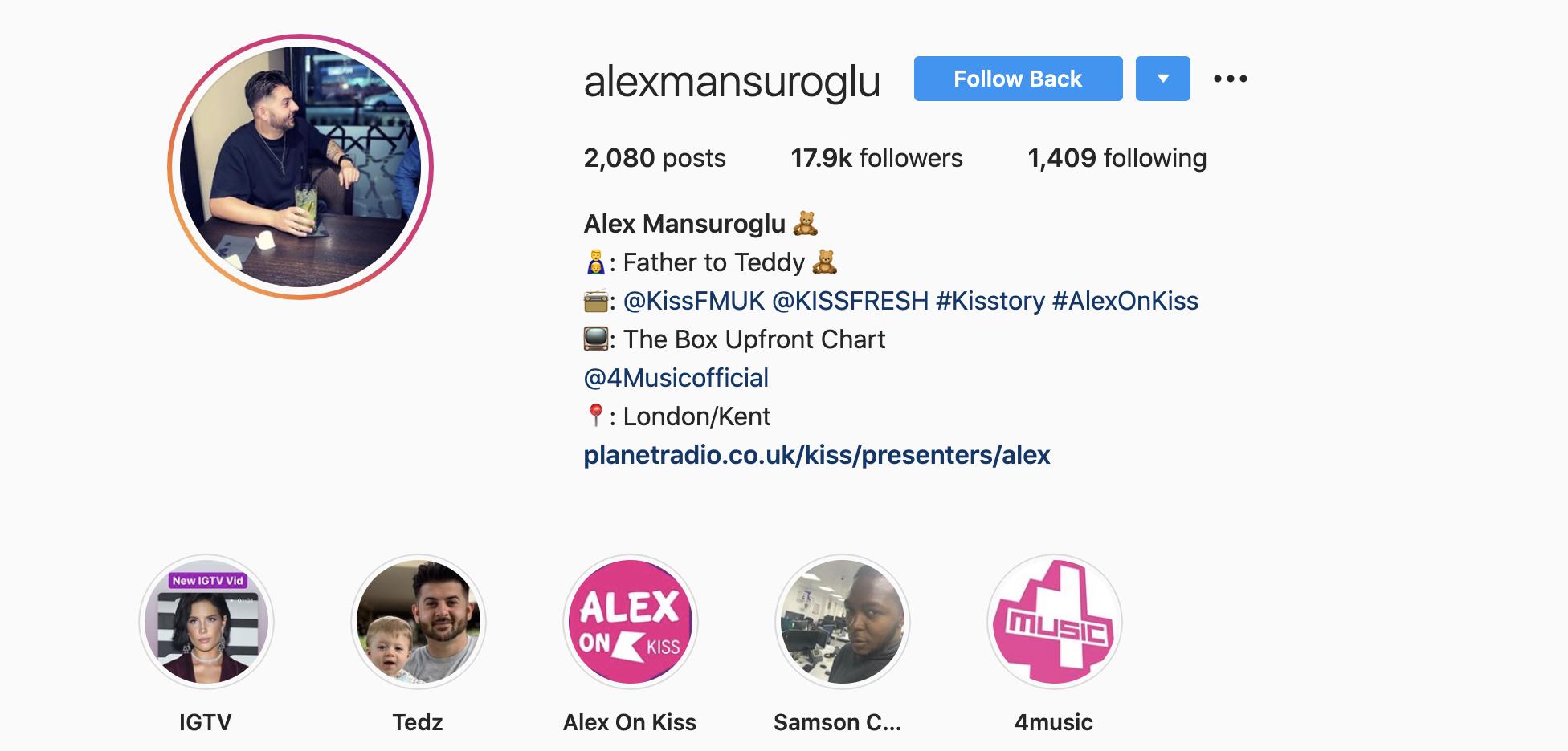 Alex Mansuroglu: UK Radio's Biggest New Voice
