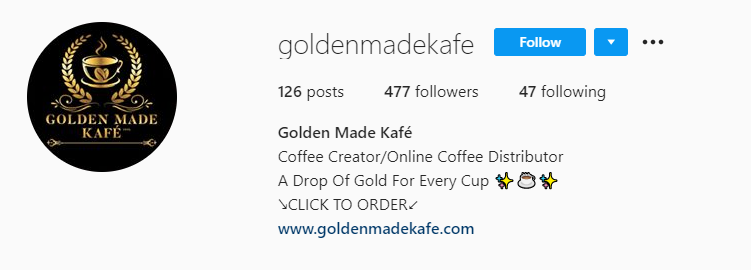 Golden Made Kafe Makes The Best Coffee