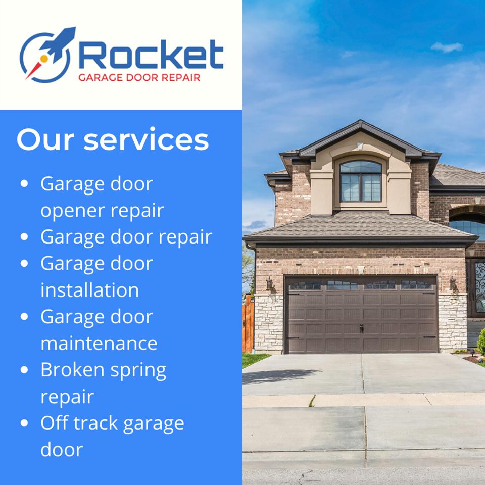 Rocket Garage Door Repair Announces Their Broad Scope of Operations