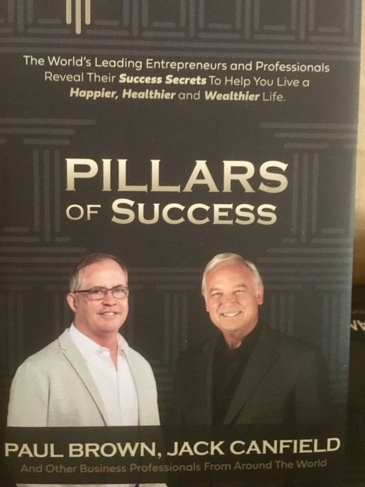 "CEO of Paul Brown Productions, Endurance Athlete and Beverage Professional, Paul Brown, Hits Amazon Best-Seller Lists with ""Pillars of Success"""
