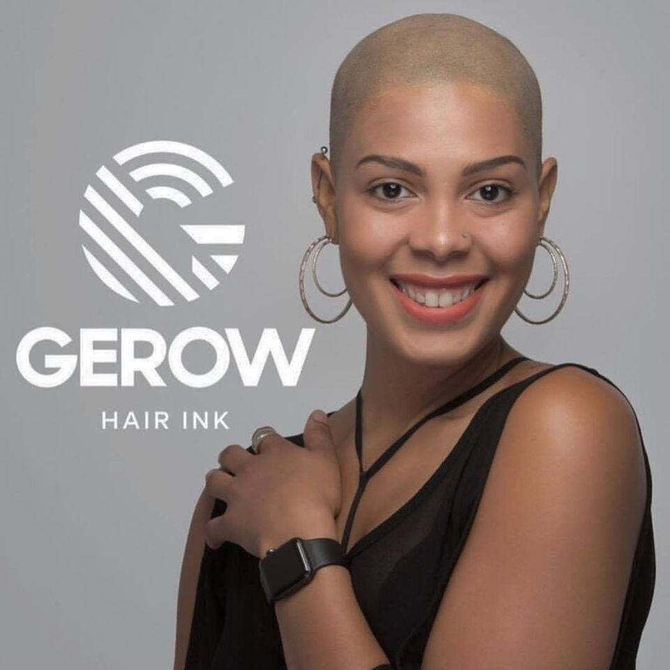 Gerow Hair Ink Demonstrates Scalp Micropigmentation at the International Beauty Show