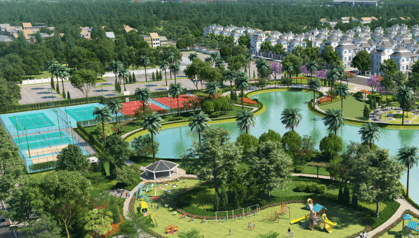 Vinhomes Wonder Park ThucviLand - an upcoming luxury urban project in Hanoi, Vietnam