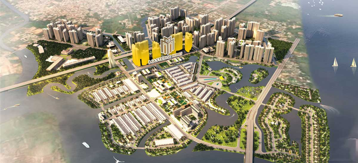 Masteri Centre Point ThucviLand - an upcoming real estate project located at the gateway to the east of Ho Chi Minh City, Vietnam
