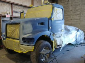 Semi Truck Paint and Body Shop in Houston, TX