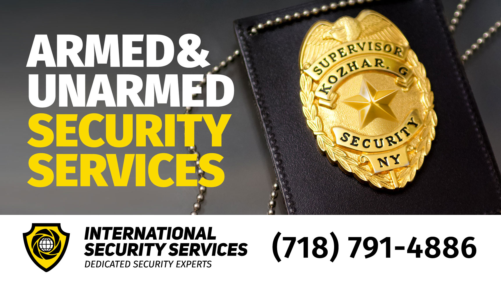 International Security Services is leveraging technology as an essential component of its superior security strategy