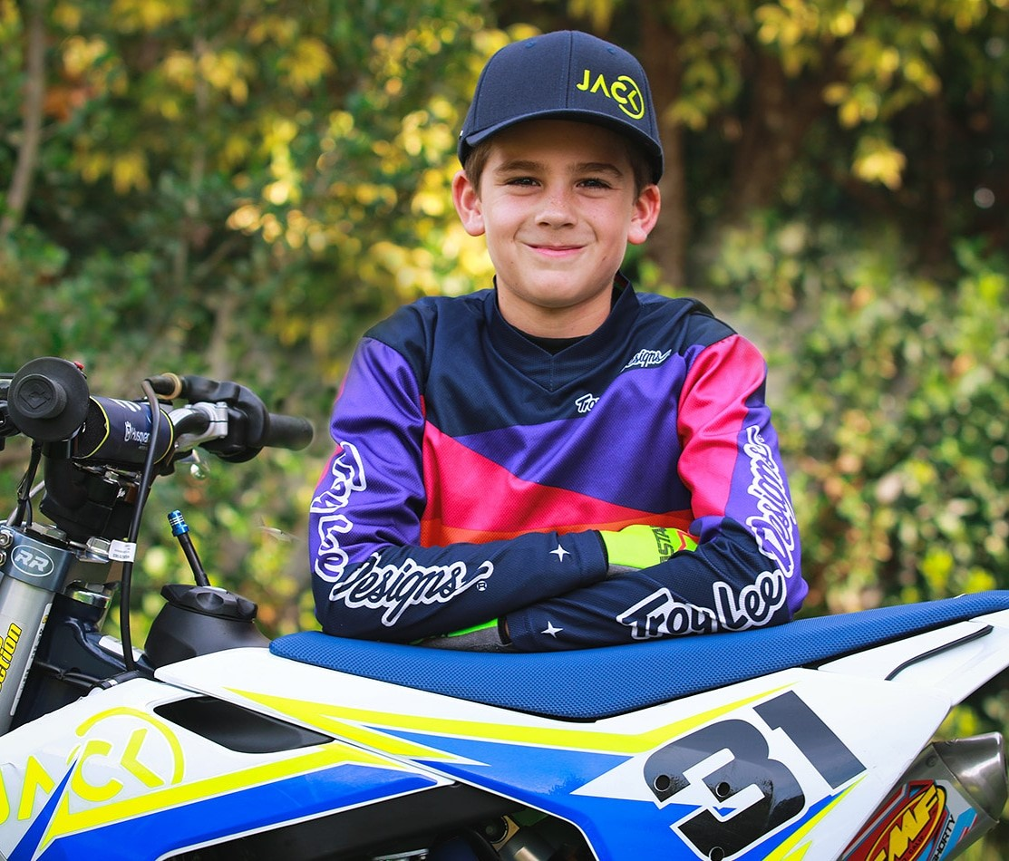 A Young Amateur Motocross Rider Jack Pullen Travels Between USA & South Africa to Compete in Regional and National Championships