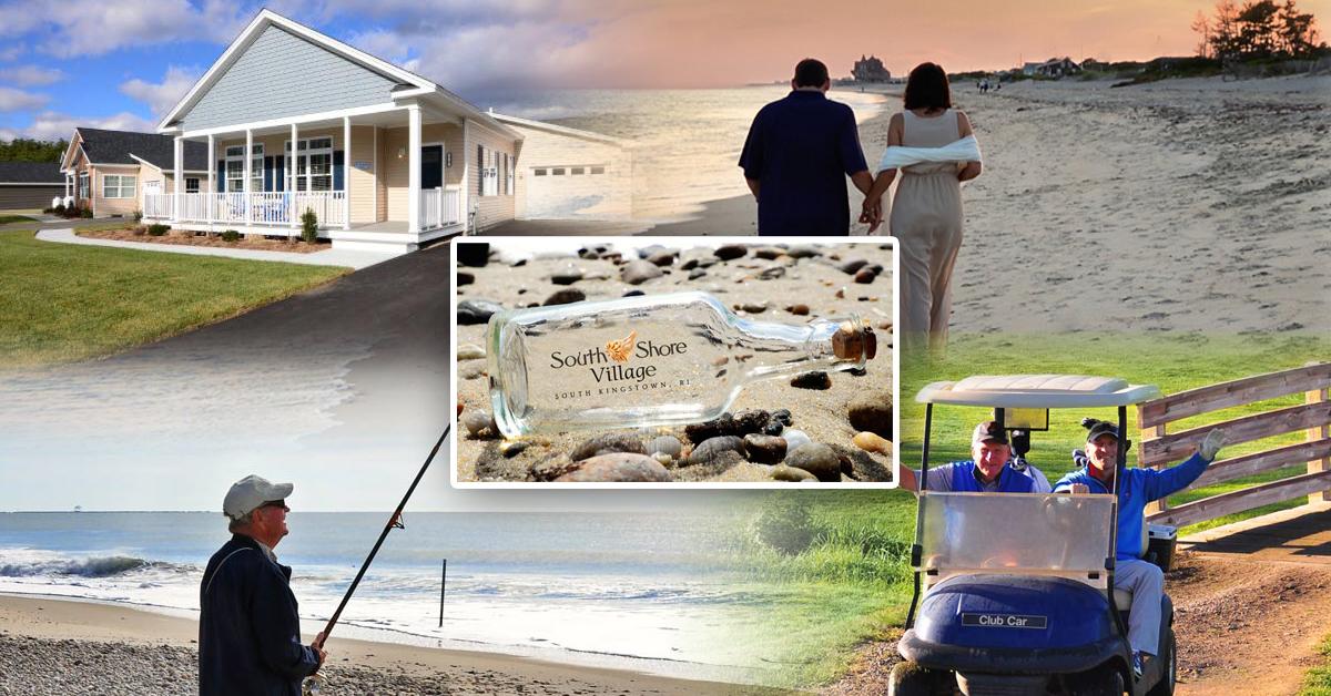 Coastal Living Awaits at South Shore Village RI