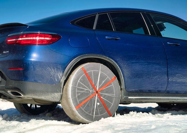 Textile alternative to snow chains: AutoSock first product worldwide certified according to new European Standard