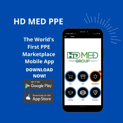 New Mobile App, HD MED PPE, Offers Buyers & Sellers A Safe Platform For Trading Covid-19 Personal Protection Equipment At Reasonable Rates