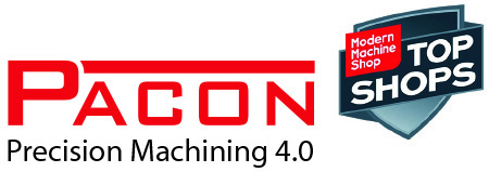 Pacon Mfg, Inc Awarded Top Machine Shop Honor