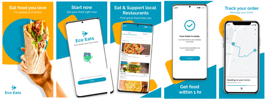 Eco Eats Food Venture Launches their Zero Carbon Food Delivery App that helps create vibrant communities