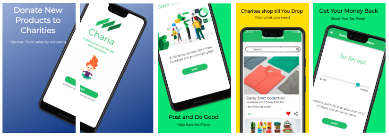 Charia Launches the World's First-ever Donation App to Help Save the Environment before it's too late