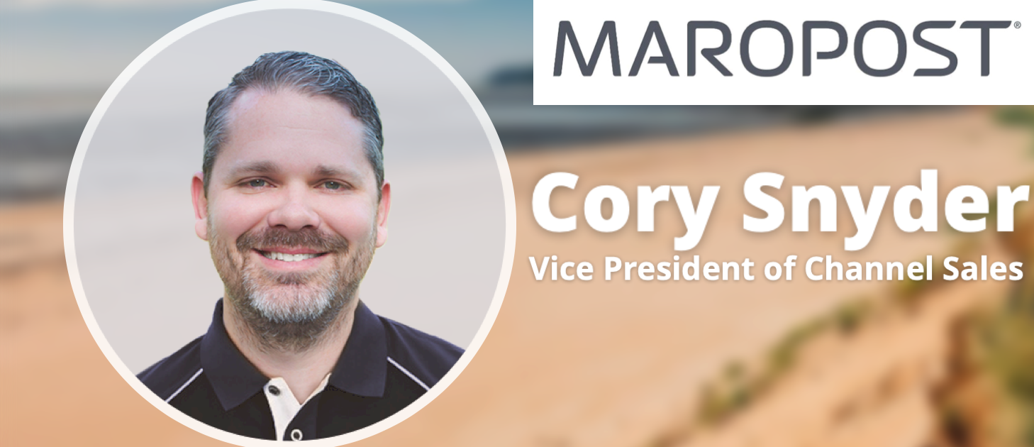 Maropost Hires Cory Snyder, New VP of Channel Sales, Who Also Likes Long Walks On the Beach