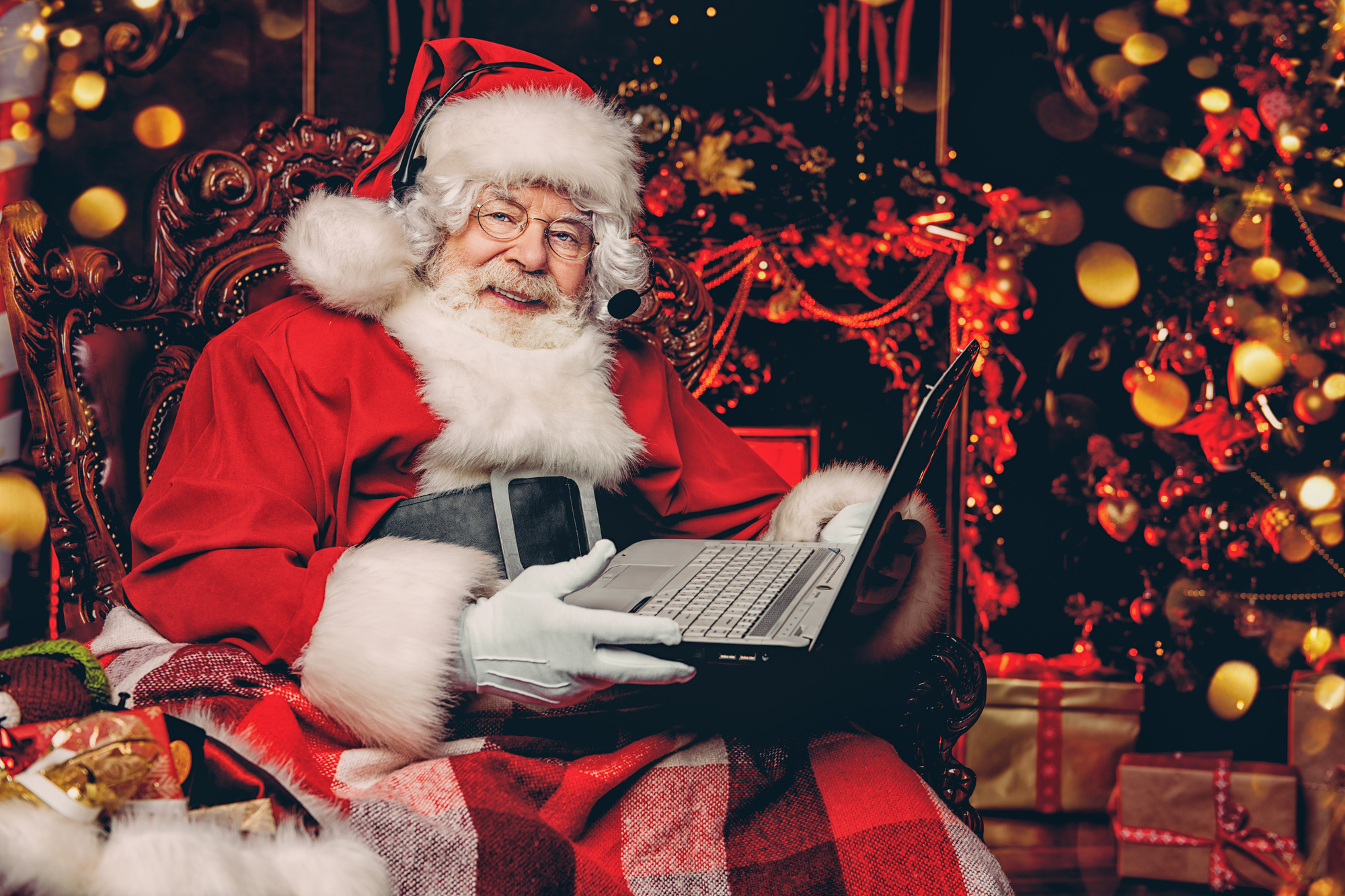 Santa's Grotto Live Launches Recruitment Drive To Meet Demand For Video Call With Santa