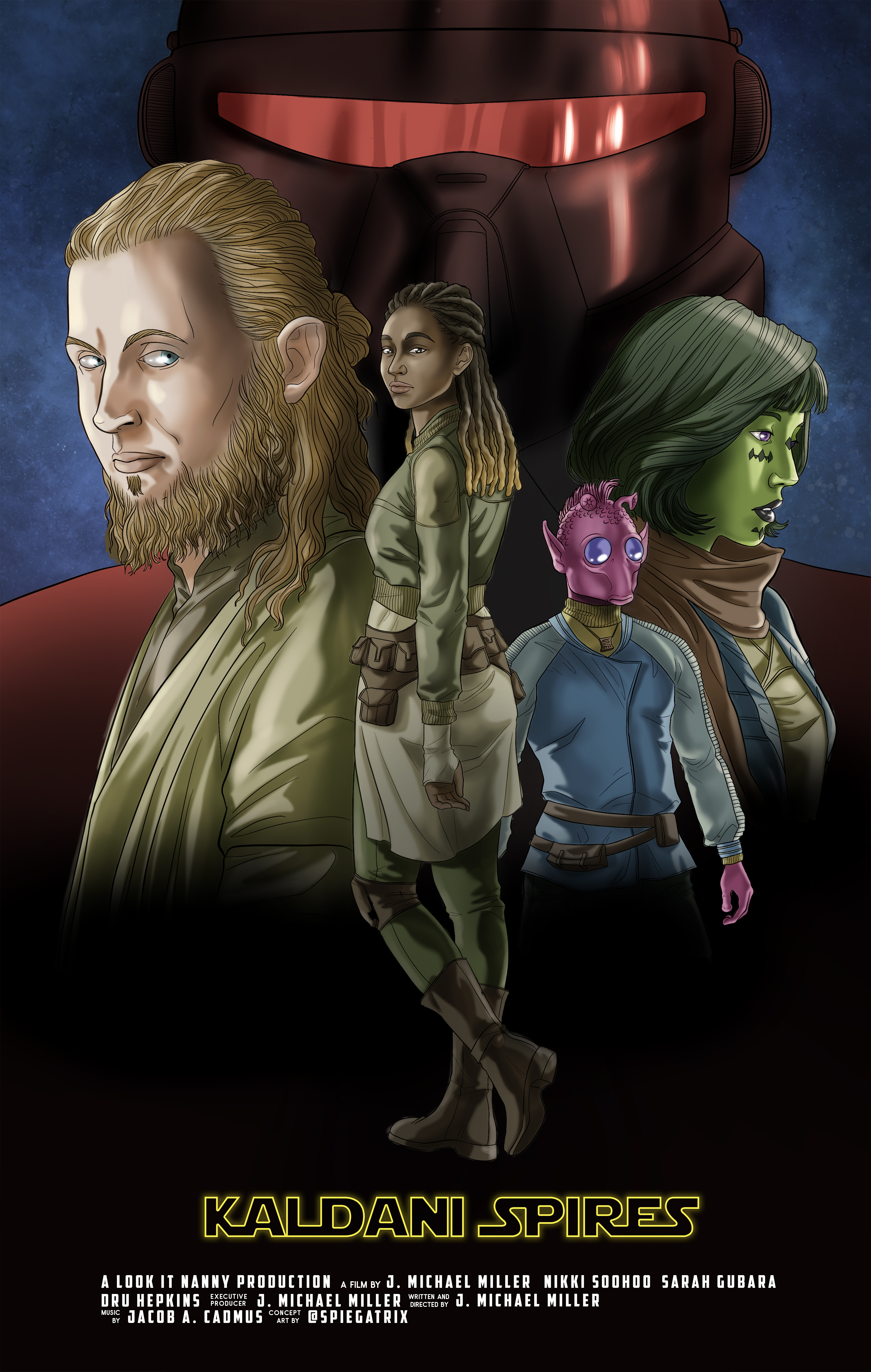 """Kaldani Spires - A Star Wars Story"" Series Kickstarter Campaign Slated for October 30"