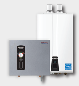 Homeowners Can Choose Between Tankless or Tank Water Heaters