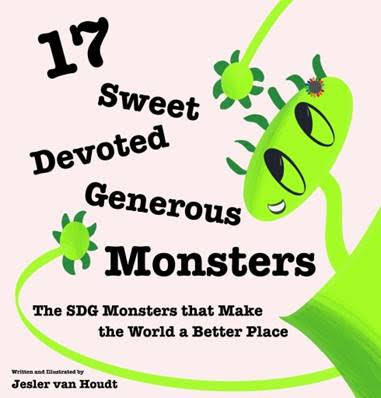 17 Sweet, Devoted, Generous Monsters - All-inclusive picture book for kids